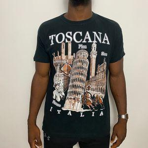 Vintage Toscana Italia tee. Size xl. Black white